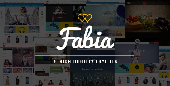 Fabia - OpenCart Theme with 9 Layouts